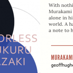 MURAKAMI MAN - review of Colourless Tskuru Tazaki and His Years of Pilgrimage